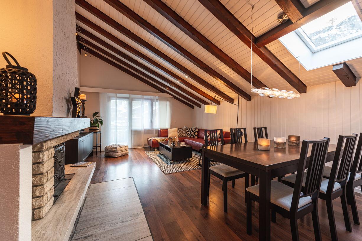 4 Zimmer Wohnung  Allegra - Ihr Ferienhaus in Zermatt